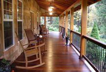 {Front Porch Sittin'} / by Kathleen Visser