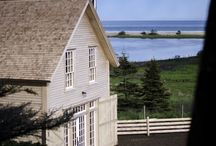 Chebogue Schoolhouse / Originally built in 1830, Brian MacKay-Lyons moved the schoolhouse 200 KM to his farm in Upper Kingsburg, Nova Scotia. There he restored and rehabilitated the structure as his own personal residence and rental property.
