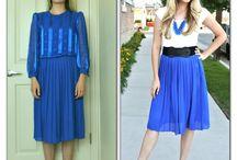 Refashioning - skirts