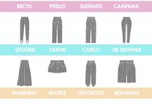 Tipo de pantalones