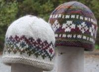 Hats & Hands / Project inspiration for knit and crochet hats, headbands, mittens, gloves, fingerless mittens, and armwarmers! / by Green Mountain Spinnery