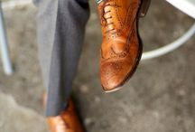 Oxfords, Brogues and Loafers / Discover men's oxford shoes, brogues and loafers and find your outfit inspiration. / by Lookastic