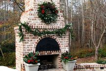 Outdoor Fireplace / by Miss Gracie