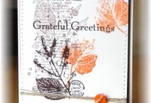 RETIRED - STAMPIN' UP! - FRENCH FOLIAGE / Handgemaakte kaarten, cadeauverpakkingen en andere creaties gemaakt met de Stampin' Up! stempelset French Foliage (RETIRED - NIET MEER VERKRIJGBAAR}