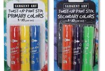 Only at Sargent Art! / From paints to glue and pencils to clay - see all the items Sargent Art has to offer!
