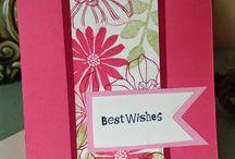 Stampin up Karten Blumen
