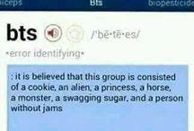 2. BTS - cute, funny