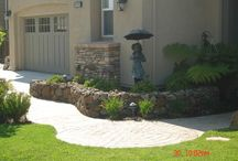 house ~ Pacific Grove RETAINING WALLS / by Cathi Matthews