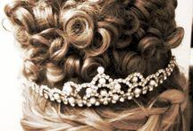 Irish dancing hairstyle