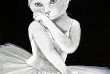 SUSAN HERBERT AND CATS / A cat artist