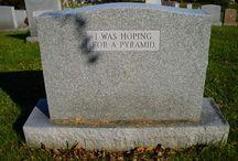 Cemetery Stones / by Bonna Weiser