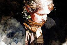 watercolor / by Ola Liola