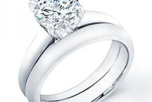 Diamond Wedding Sets / The wedding sets are a unique combination of engagement rings and wedding bands in the best way possible, just like the two of you. Simply put, Beverly Diamonds takes the guessing out of finding the perfect combination of rings and bands that match together.