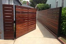 Fence the whare