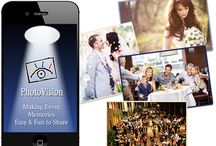 PhotoVision Event App / Upload photos from everyone's phone and computer of your special event and we will make you a keepsake video to cherish for a lifetime...Download PhotoVisionEvents App today!