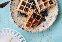 food - waffles