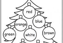 Christmas tray tasks