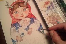 Art / Illustrations / moje ilustracje