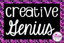 Creative Genius / This is a board hosted by Cara Taylor, from Creative Playground!  If you'd like to pin to this group board, please email me at caraelizabethtaylor@gmail.com