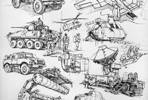 Drawing - Vehicles