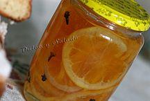 Naranja en almibar