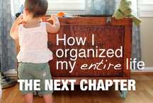 Home: One of these Days - Organizing / by Andrea Jackson