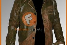 Johnny Depp Distressed Green Jacket