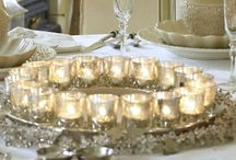 Tables and centrepieces