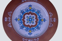 Terracotta ~ Beauty in Baked Earth / Natural and organic, add an element of the outdoors to your home, garden or patio with our collection of terracotta. All items can be found on our website www.romeocuomoceramics.com / by Italian Decorative Art by Romeo Cuomo
