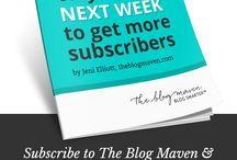 Blogging / by JoyForney
