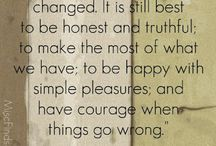 QUOTES AND SAYINGS / by Elizabeth