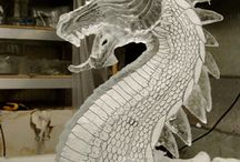 Ice carving & sculpture / by Fleur McMullin