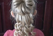 Hair ideas for the girls / by Susan Lynch