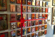 spirited display contest (galleries) / Welcome to the board for our holiday contest for you - our Spiritile gallery! Let's start the holidays off with the fun stuff. Email us: hello@houstonllew.com - we'll invite you to add pins to the board of your #spiriteddisplay wrapped Spiritile[s] or Spiritile wall!  Top 5 pins with the most likes and repins will win a free tile!  Winners announced December 10th. Happy wrapping!