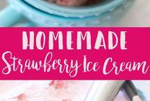 home made sorbet & ice cream