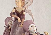 Figuren en poppen Tine Kamerbeek