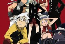Soul eater / My favorite character is Soul OMG Soul is my bae no one will take him from me sorry fan girl moment but it's a good anime  / by Rachel Daly