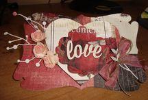 Kartki -pocztówki / Kartki,które wykonałam sama