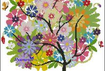 árbol colores mandala