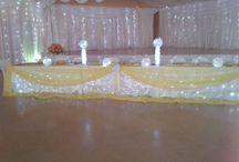 Table and hall decorations / Table and hall decor
