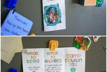Cousin camp / Summer fun for cousins