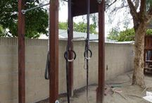 Backyard workout station