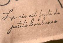 La Petite Bonheurs - The Little Pleasures