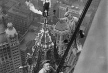 Vintage workers