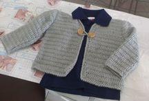 Meus trabalhos / Meus trabalhos em crochê e tricô