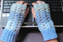 Crocheting-Fingerless Gloves