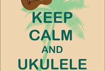 Music for my soul / Ukulele stuff, ukulele on.
