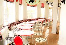 ijssalons - icecream parlors