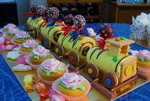 Festa compleanno tema treno