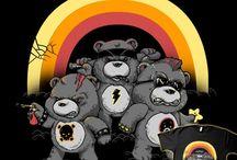 CARE BEARS ʕ•♥•ʔ clothing & accessories /  CARE BEARS oblečenie a doplnky